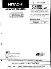 Buy Hitachi VTUX625A Service Manual by download Mauritron #287424
