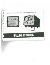 Buy Biddle CME110A-1 Operating Guide by download #335841