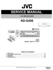 Buy JVC KD-G456 Service Manual by download Mauritron #281962