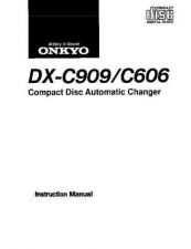 Buy Onkyo DXC909 C606om Service Manual by download Mauritron #330886