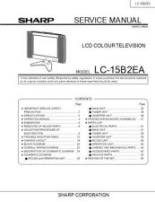 Buy Sharp LC-26-32GA5E Service Manual by download Mauritron #322683