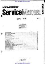 Buy Memorex STAV3100 Manual by download Mauritron #324703