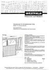 Buy Volkswagen T4 01 1993 Westfalia T4 MosquitoNetForSlidingWindowWM by download #333785