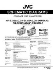 Buy JVC GR-HD1 schem Service Manual by download Mauritron #280813