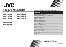 Buy JVC AV-21LS2 Service Manual by download Mauritron #279623