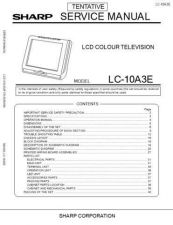 Buy Sharp LC-10A3E Service Manual by download Mauritron #322673