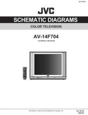 Buy JVC AV-14F704 sch Service Manual by download Mauritron #279482