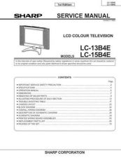 Buy Sharp LC20B8US Service Manual by download Mauritron #332910