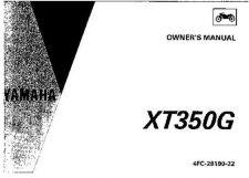 Buy Yamaha 4FC-25199-22 Motorcycle Manual by download #334259