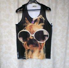 Buy Yorkshire Terrier Pet Dog Tank Top Vest T shirt Unisex Super Cute Lovely L New