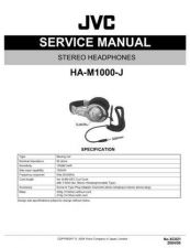 Buy JVC XC021 Service Manual by download Mauritron #278401