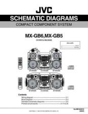Buy JVC MX-GB5 sch Service Manual by download Mauritron #282827