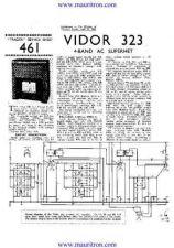 Buy VIDOR. 323. Vintage Service Information. by download Mauritron #315247