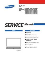 Buy Samsung HLR4667W Service Manual by download Mauritron #332815