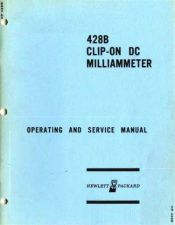 Buy Hewlett Packard 428B Service Manual -SNprefix-131 by download Mauritron #326637