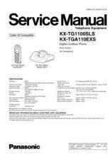 Buy Panasonic TG1100SL Manual by download Mauritron #302269