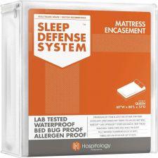 Buy Mattress Protector Zippered Waterproof Bed Bug Encasement Queen Size Cover Knit
