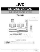 Buy JVC TH-S11-12 Service Manual by download Mauritron #276954