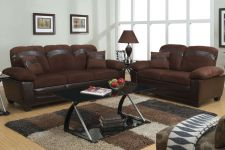 Buy Modern Sofa Set Sofa Furniture Microfiber Sofa Couch 2 Pc Living room Set