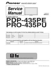 Buy Panasonic PDP-435PE-WYVIXK Manual by download Mauritron #301018