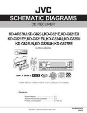 Buy JVC KD-AR870 sch Service Manual by download Mauritron #281770