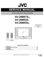 Buy JVC AV-29ED5SN Service Manual by download Mauritron #279842
