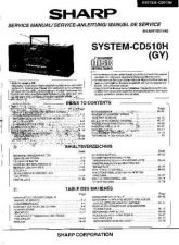 Buy JVC SYSTEM-CD510H SM GB-DE-FR(1) Service Manual by download Mauritron #283674
