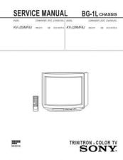 Buy Sony KV29FX30 Service Manual by download Mauritron #333020
