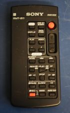 Buy SONY RMT 811 REMOTE CONTROL - camcorder DSR-PDX10 DSR-PD100 DSR-PD150 DSR-PD170