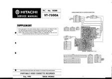 Buy Hitachi VTF360ENA_EN Service Manual by download Mauritron #287177