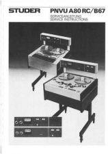 Buy Studer 10.23.2790_PNVU_A80RC-B67_Service Manual by download Mauritron #313151