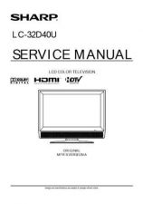 Buy Sharp LC32D40U Service Manual by download Mauritron #322688