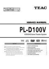Buy Teac PL-D100V Service Manual by download Mauritron #319485