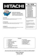 Buy Hitachi L37V01E Service Manual by download Mauritron #290454