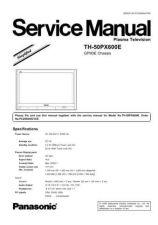 Buy Panasonic TH-50PX600E Manual by download Mauritron #302389