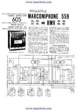 Buy MARCONI 559 Service Manual by download Mauritron #315629