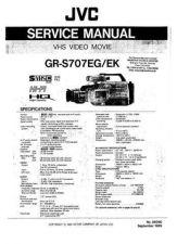 Buy JVC GRS707EK Service Manual by download Mauritron #326797