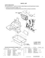 Buy JVC GR-SX19EF GR-SXM29EF PART Service Manual by download Mauritron #279307