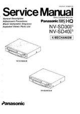 Buy Panasonic NVSD30. NVSD40 Service Manual by download Mauritron #306155