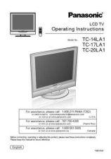 Buy Panasonic TC_29GF92H Manual by download Mauritron #301850
