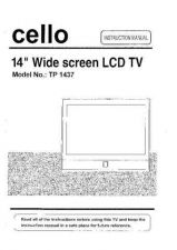 Buy Cello TP1437 Television Operating Guide by download Mauritron #328176