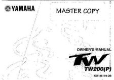 Buy Yamaha 3XT-28199-2B Motorcycle Manual by download #334199