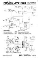Buy Revox A77 PTT Circuit Diagram Schematics by download Mauritron #312210
