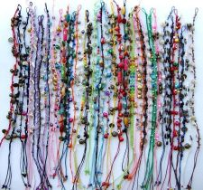 Buy CUTE 9 STYLE MIXED ANKLET CHARM BRACELET HANDCRAFT FASHION ROPE HIPPY WHOLESALE