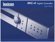 Buy Lexicon mc4 userguide Revision 0 by download Mauritron #316136