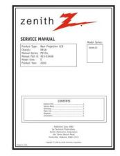 Buy Zenith D60WLCD Service Manual by download Mauritron #323732