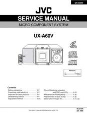 Buy JVC UX-A60V Service Manual by download Mauritron #284108