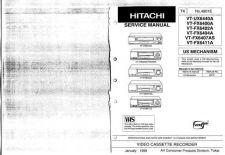 Buy Hitachi VT-L2500E Service Manual by download Mauritron #285807