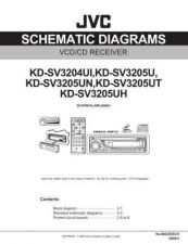 Buy JVC KD-SV3205UH-2 Service Manual by download Mauritron #282303