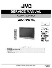 Buy JVC AV-29W33B-2 Service Manual by download Mauritron #279892